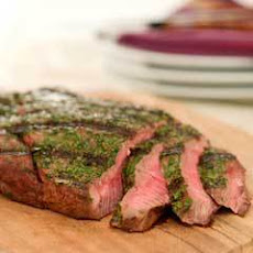Buttery Cilantro Steak