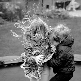 Siblings Playing  by Lidy Kerr - Babies & Children Children Candids