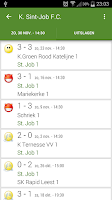 Screenshot of Voetbal kalender
