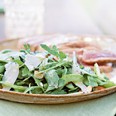Arugula and Celery Salad with Lemon-Anchovy Dressing