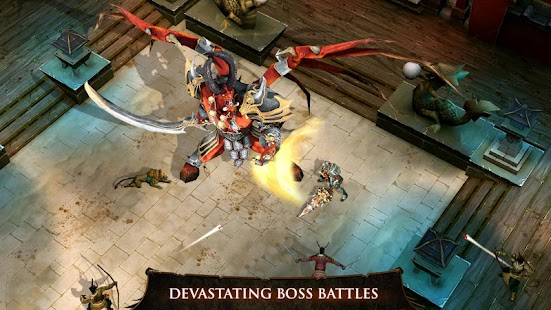 Game Dungeon Hunter 4 APK for Kindle