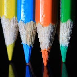 pensil warna 3 by Farid Wijayanto - Artistic Objects Still Life