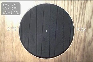 Screenshot of Pie+ camera measure
