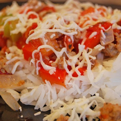 Italian Sausage and Rice