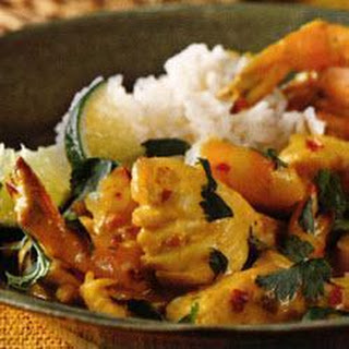 Jamaican Seafood Curry