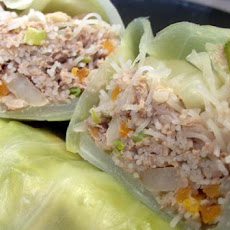 Asian Style Cabbage Rolls