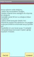 Screenshot of BUNLARI BİLİYORMUSUNUZ