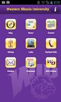 Screenshot of WIU Mobile