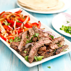 Grapefruit Marinated Fajitas