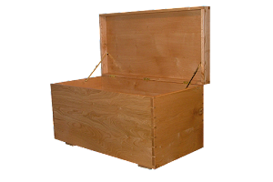 Cedar of Lebanon Lined Blanket Box