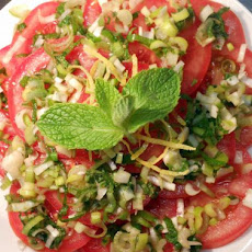 Tasty Asian Tomato Salad