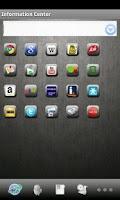Screenshot of InformationCenter