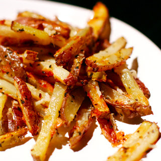 Baked Parmesan Basil Fries