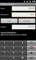 Screenshot of Percent Calculator  +