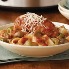 Savory Slow-Cooked Chicken Cacciatore