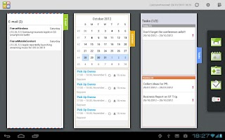 Screenshot of Moxier Mail for Tablet - Trial