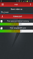 Screenshot of FVD - Free Video Downloader