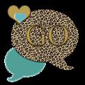 GO SMS THEME/TealLeopard4U icon
