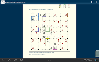 Screenshot of Slitherlink (free)