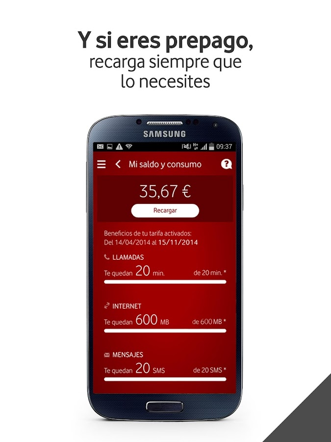 Mi Vodafone Screenshot 10