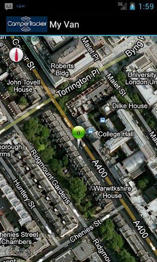 VW Camper Tracker GPS Security