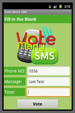 Vote Many SMS