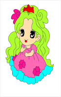 Screenshot of Coloring princess - Kids game