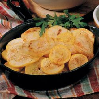 Skillet Squash and Potatoes