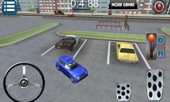 Screenshot of Metro City 3D Parking Game