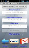 Screenshot of Unlock USA Samsung