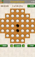 Screenshot of Peg Solitaire: Marble Puzzles