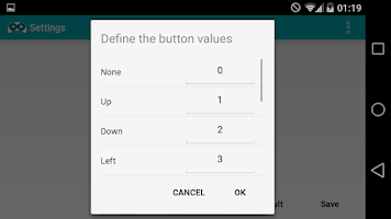 Screenshot of Arduino BT Joystick Free