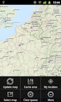 Screenshot of MapsOn Free: Offline Map