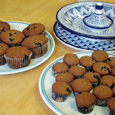 Yogurt Blueberry Bran Muffins