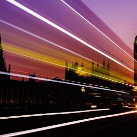 The Big Ben by Josh Rex - City,  Street & Park  Night