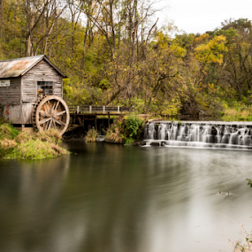 Past Peak by Andy Chow - Landscapes Waterscapes ( mill, hyde mill, flour mill, historic mill, grismill,  )