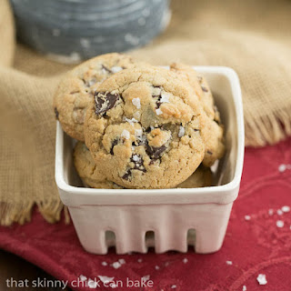 Salted Toffee Chocolate Chunk Cookies #BloggerCLUE