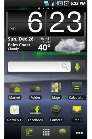 ADW Theme: Nexus S Gingerbread