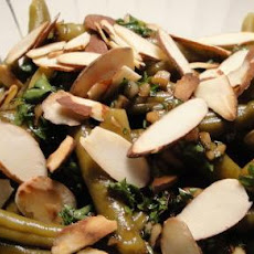 Balsamic  & Garlic Beans
