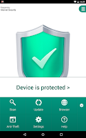 Screenshot of Kaspersky Internet Security