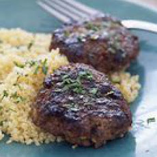 Moroccan Beef Patties