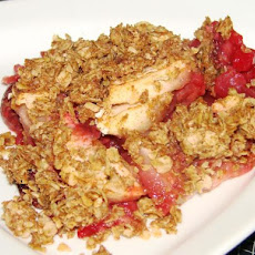 Apple and Raspberry Crisp