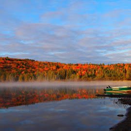 Algonquin Serenity by Marijke Hennink - Landscapes Waterscapes (  )