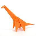 Dinosaur Origami 3 icon
