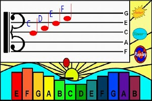 Screenshot of Kids Music Maker Lite