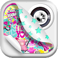App Cute PhotoBooth Girl Stickers apk for kindle fire