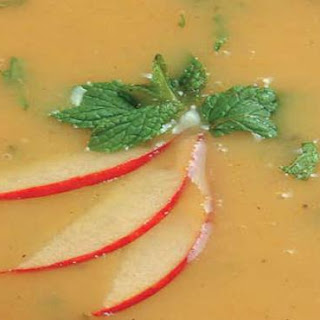 Curried Apple & Mint Soup