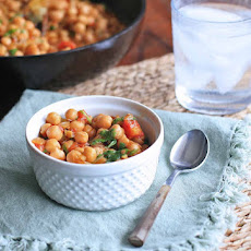 Kabuli Chana Ko Tarkari- Nepali Chickpea Curry