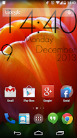 Screenshot of Super Clock Wallpaper Free