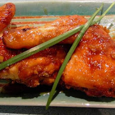Gingery Maple Glazed Chicken